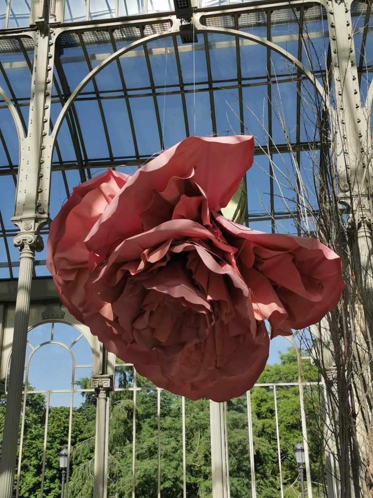 Exposición en el Palacio de Cristal